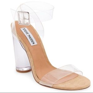 Steve Madden 'clearer clear' sandals